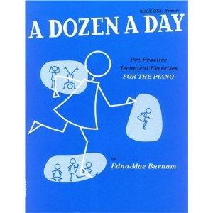A Dozen a Day Volume 1 (bleu)