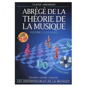 Abrégé de la théorie de la musique Volume 1