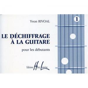 Déchiffrage à la guitare Volume 1