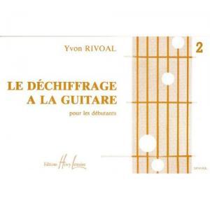 Déchiffrage à la guitare Volume 2