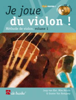 Dehaske - methode - je joue du violon vol.1 + cd