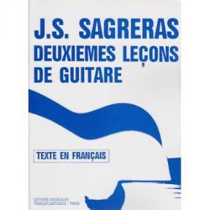 Deuxièmes leçons de guitare de Julio Salvador Sagreras