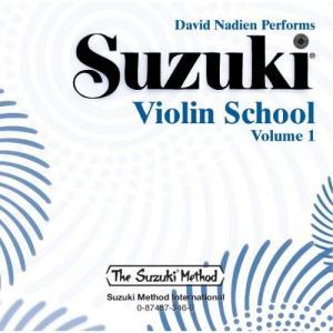 Ecole du Violon Volume 1 CD - Suzuki Violin school