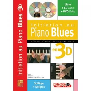 Initiation au Piano Blues par Pierre Minvielle Sebastia