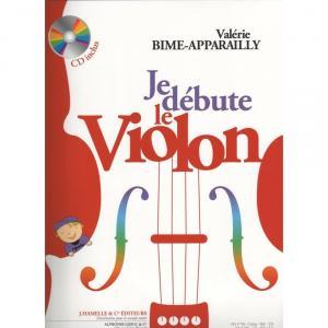 je debute le violon méthode par bime-apparailly + cd