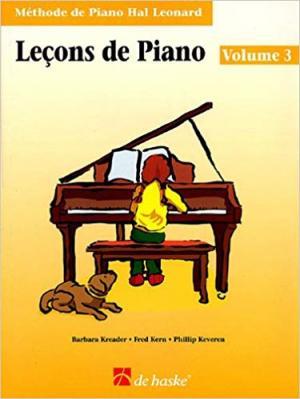 Leçons de Piano volume 3