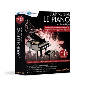 Logiciel J'apprends le piano + Solfège