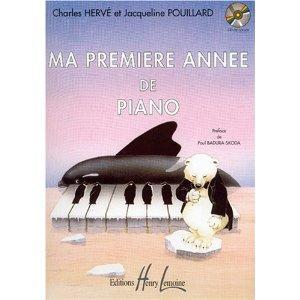 Ma 1ère année de piano par Charles Herve