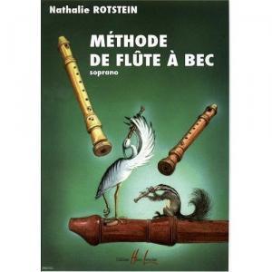 Méthode de flûte à bec de Nathalie Rotstein