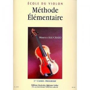 Méthode élémentaire du violon - Volume 2