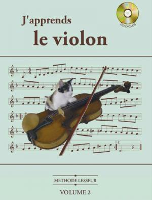 Méthode Lesseur pour violon volume 2