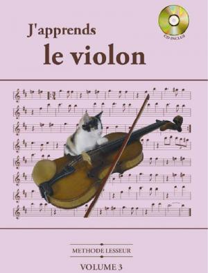 Méthode Lesseur pour violon volume 3
