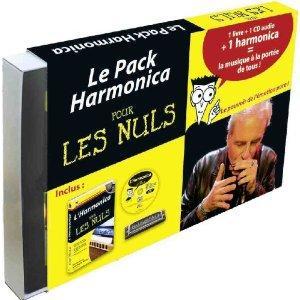 Pack harmonica pour les nuls : Un livre, Un CD audio et un harmonica