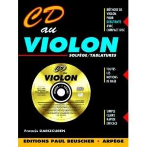 Partition : CD au violon F. Darizcuren