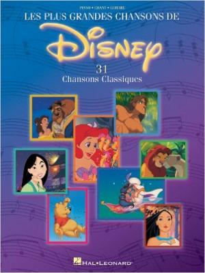 Disney - Les Plus Grandes Chansons De Disney P/V/G