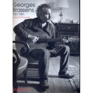 Georges BRASSENS 1921-1981 L'oeuvre intégrale - Volume 2