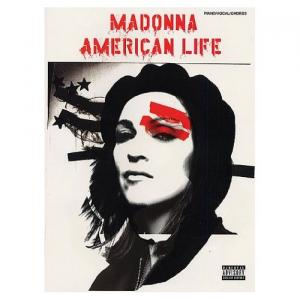 Madonna American Life Piano/Vocal/Chords