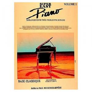 Super easy piano, tome 1