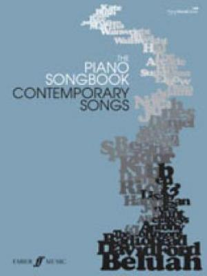 The Piano Songbook: Contemporary Songs Vol.1