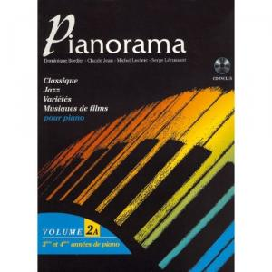 Pianorama vol 2a + CD