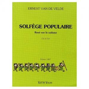 Solfège Populaire : Clé de sol par Ernest Van De Velde