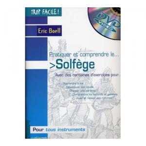Trop facile : pratiquer et comprendre le solfège ( + 1 DVD)