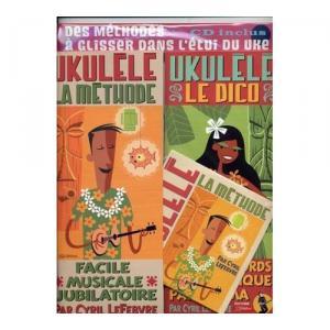 UKULELE PACK LA METHODE/LE DICO +CD