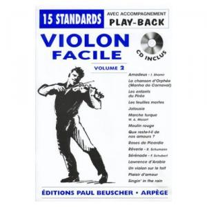 Violon facile vol.2 + CD